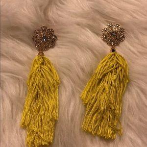 Jewelry - Yellow earrings